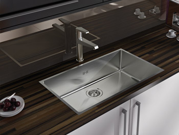 large kitchen sinks uk large inset stainless steel sink 6805