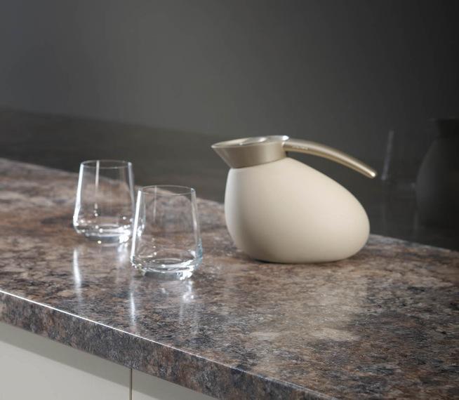 Prima Olympus Gloss Laminate Kitchen Worktop photo - 4