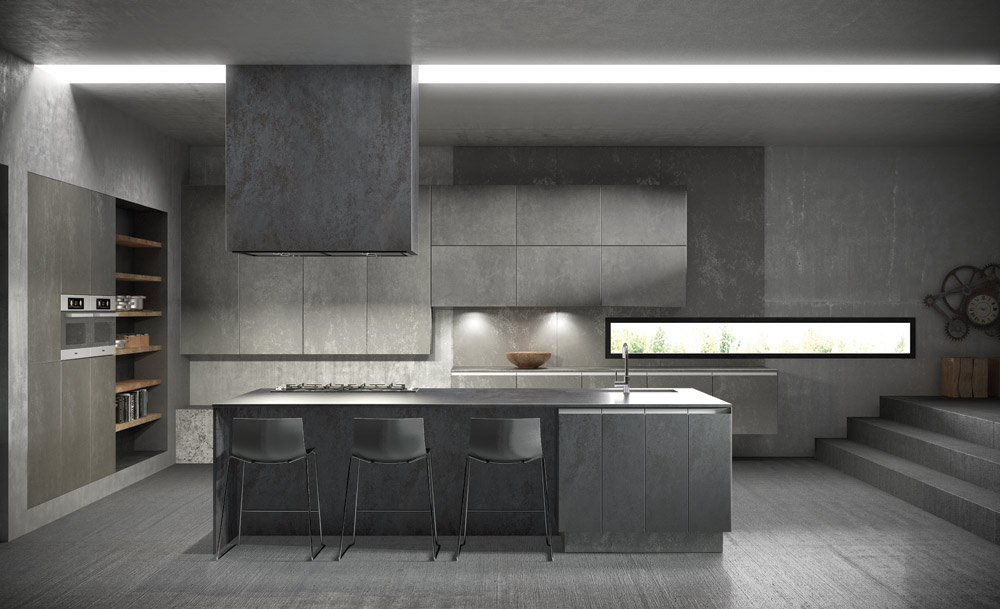 Ceramic Kitchens Ultra Modern Ceramic Kitchen Doors