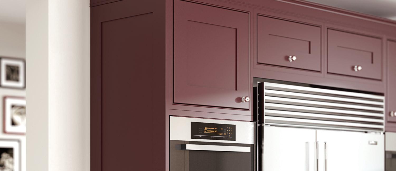 Nerva Tall Kitchen Unit - Hand Painted Inframe Range