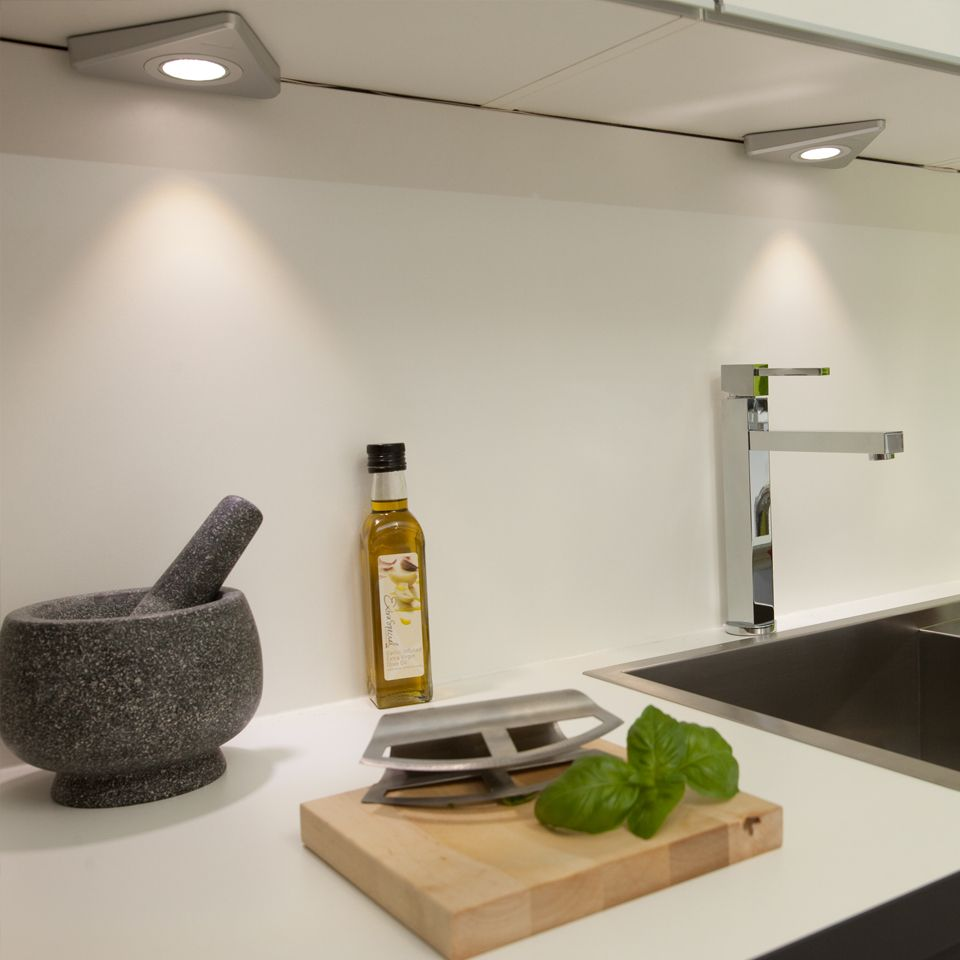 kitchen under cabinet lighting uk novus hd led triangle light 8684