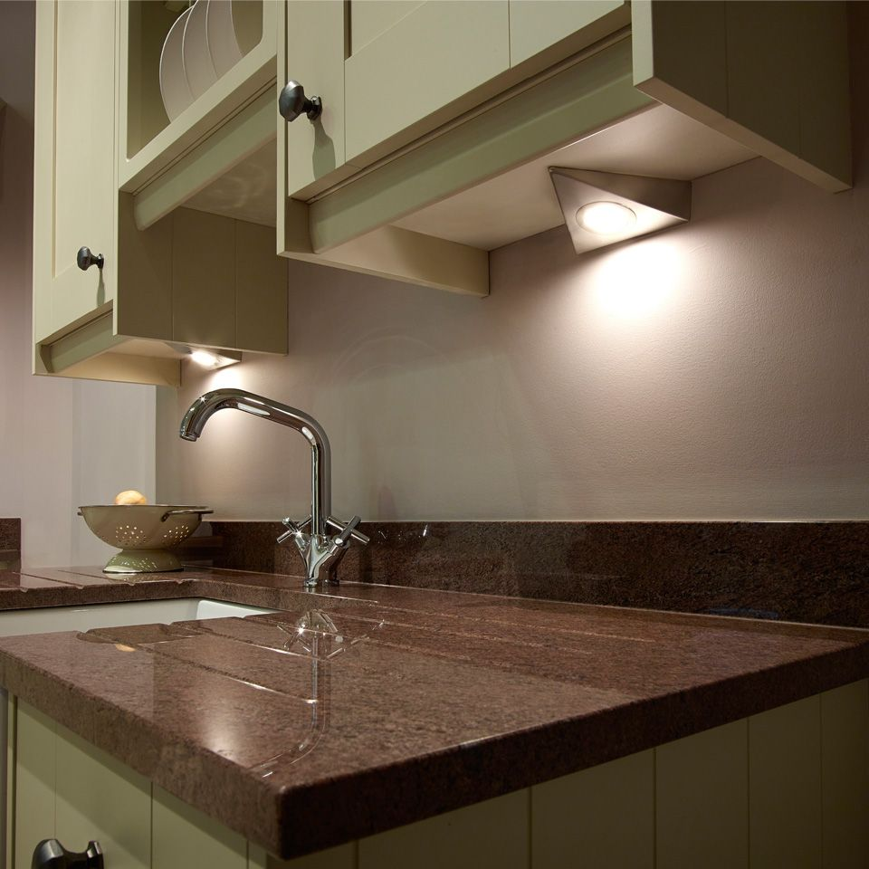 kitchen under cabinet lighting uk sls bermuda led triangle light 8684
