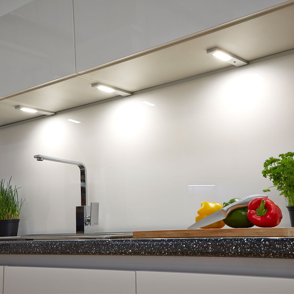 under counter kitchen lighting sls quadra cabinet light 6522
