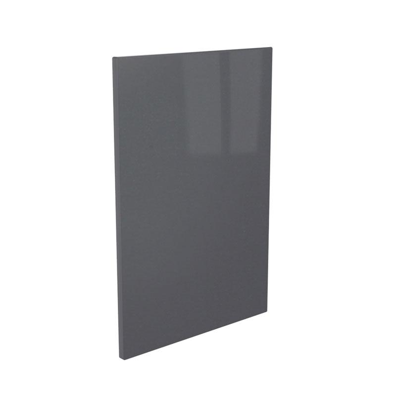 Anthracite High Gloss Vinyl Kitchen Door