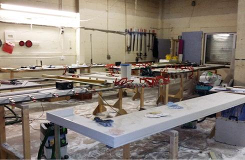 Worktop Fabrication Unit