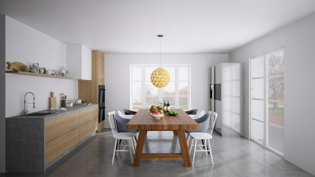 Interior 3D Design - High Quality Open Plan Interior Design Service