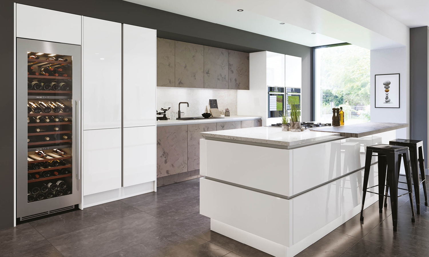 High Gloss Acrylic Kitchens Collection by Two Tone Kitchens